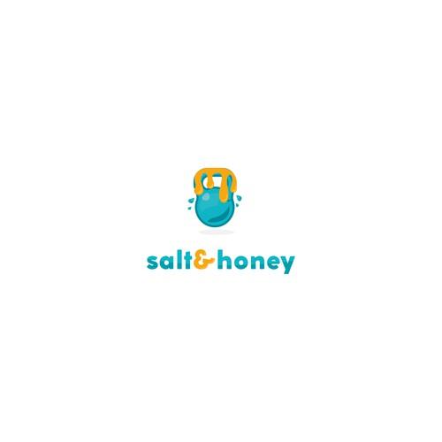 Logo concept for Salt&honey