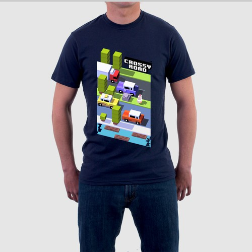 Crossy Road T-Shirt Design