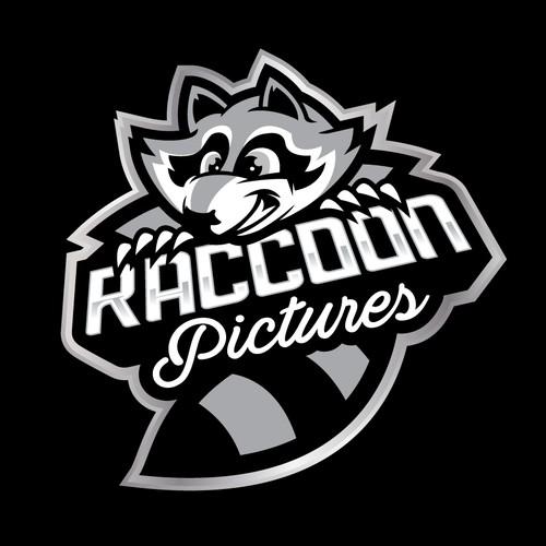 raccoon mascot concept