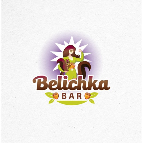 Logo Design and Website for a Healthy Snack Bar