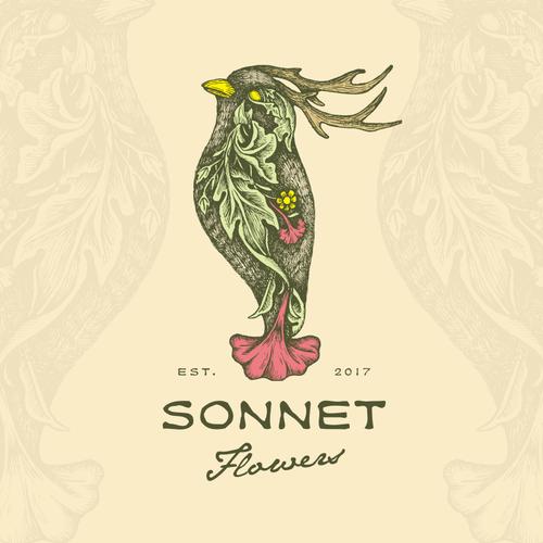 Logo for Sonnet Flowers