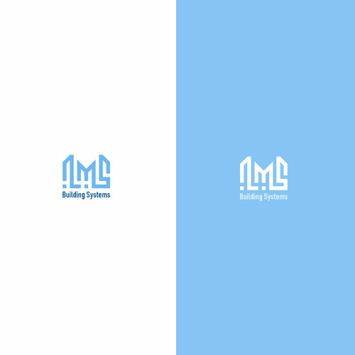 logo concept for LMS Building Systems