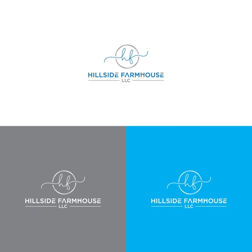 Hillside Farmhouse LLC. Logo