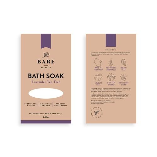 Bare Botanics Bath Soaks