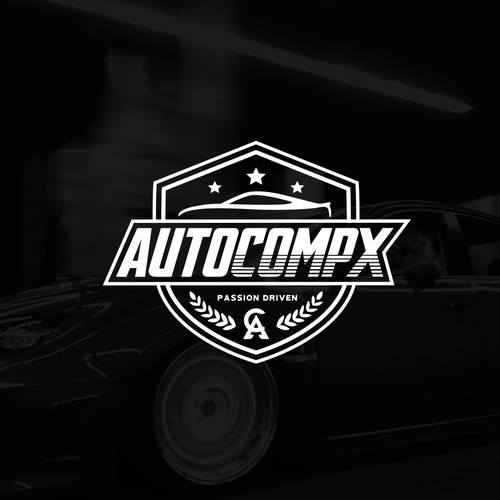 Autocompx Logo Design