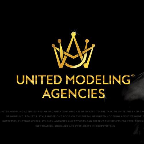 Logo design for Modeling Agency UMA