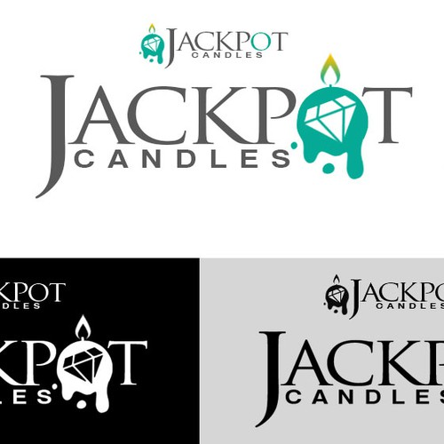 Create an Elegant yet Captivating logo for Jackpot Candles