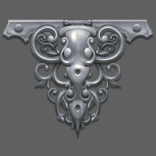 Metal Hinge Illustration
