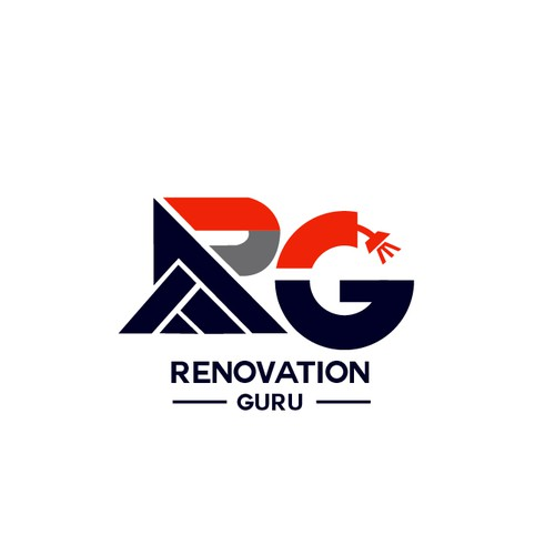 Bold Logo Concept for Renovation Guru
