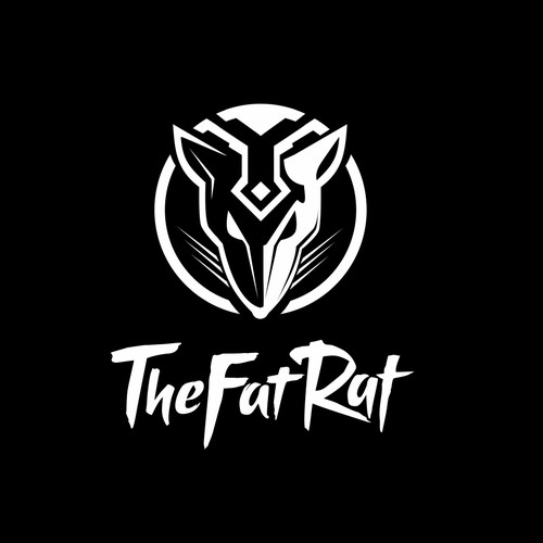 Bold logo for dj