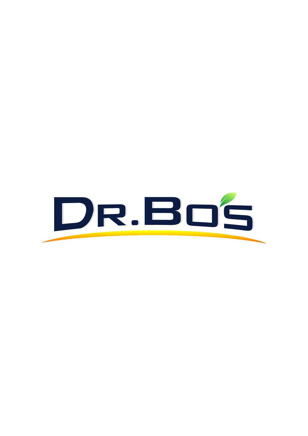 New modern logo for Dr. Bo's vitamin company!