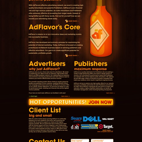 AdFlavor Website Overhaul