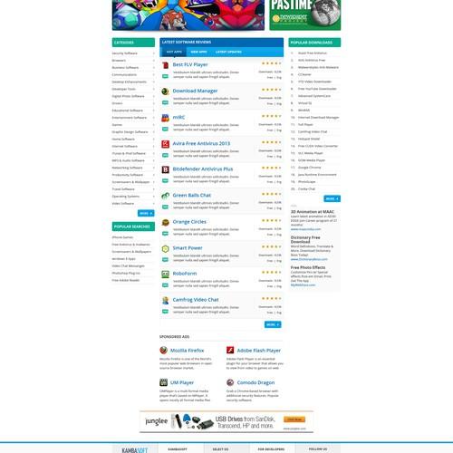 Website design wanted for KambaSoft (has logo).