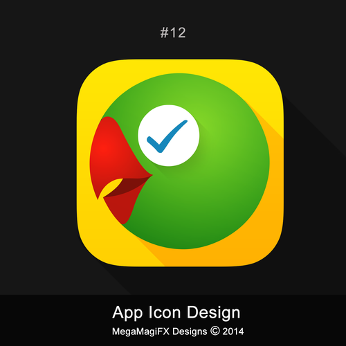 Talking reminders mobile app icon