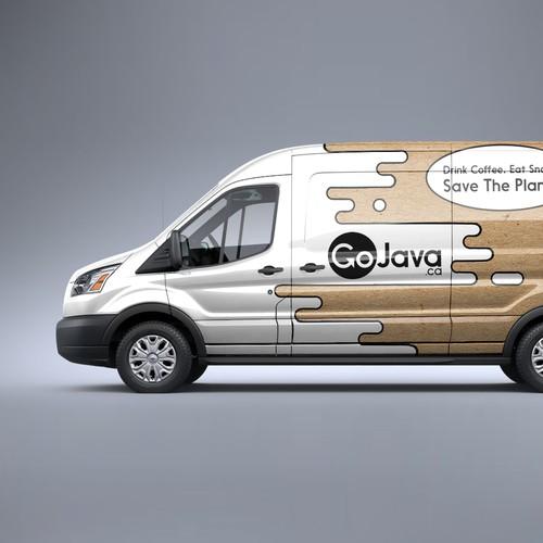 Wrap Design for Delivery Vans