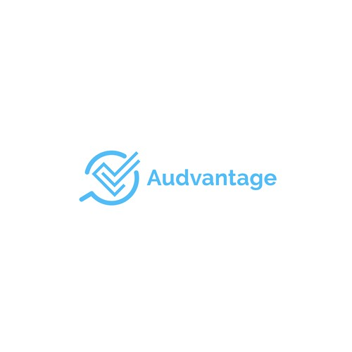 Simple and Modern Logo for Audvantage