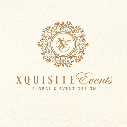 Rebranding high end event and floral design logo