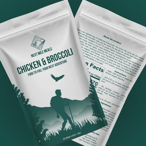 Food Packaging for Backpacking
