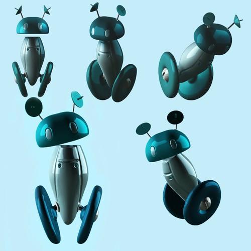 Cute Robot 3D