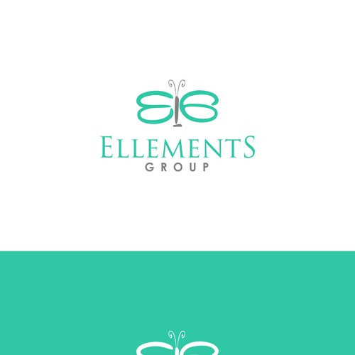 Logo for a Female Financial Advisor for female clients- artsy, web 2.0, casual