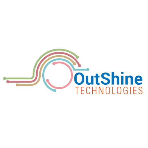 Create a logo for an exciting new tech startup - OutShine Technologies