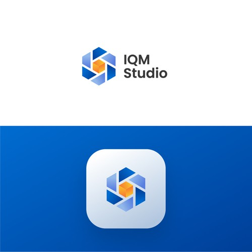 Bold logo for software development product