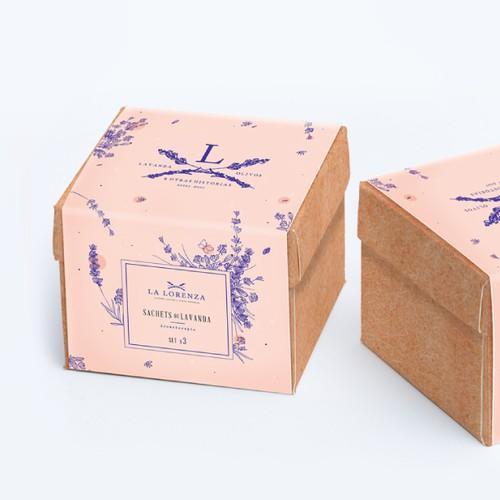 Box, sachets & booklet for La Lorenza