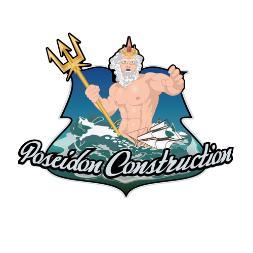 Create logo for Poseidon Construction
