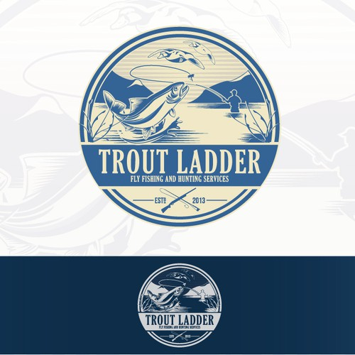 TroutLadder needs a new logo and business card