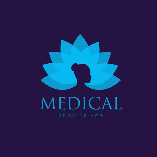 Logo concept for Medical beauty spa