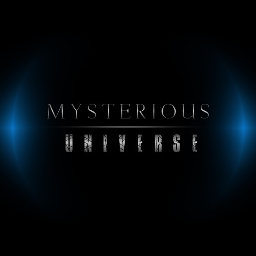 Create an exciting new logo for Mysterious Universe