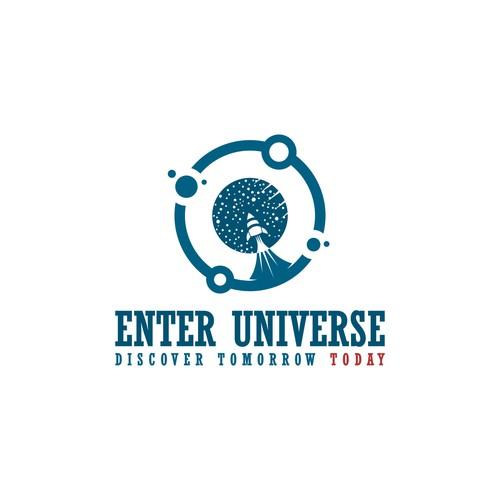 Logo design for Enter Universe