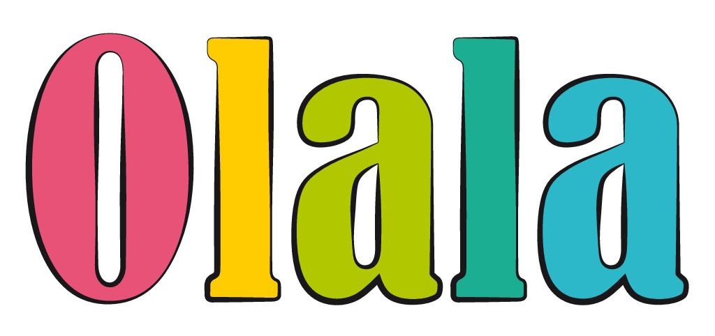 Erstelle ein Lable für Babyartikel der Marke Olala