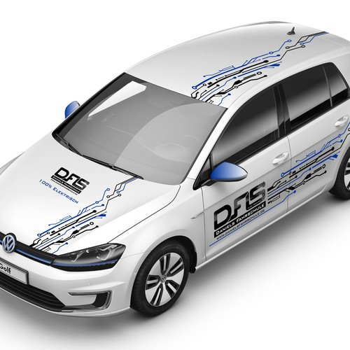 Design Car Wrap for our driving school