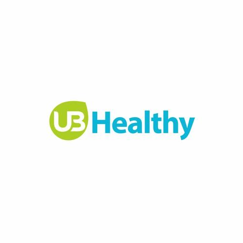 UB Healthy logo concept