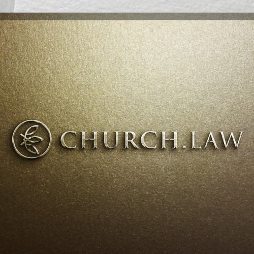 Design a logo for church.law; professional advisors for faith-based institutions.