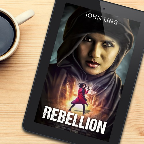 Book cover design for Rebellion
