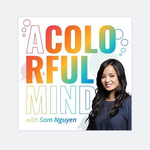 Podcast cover for A Colorful Mind