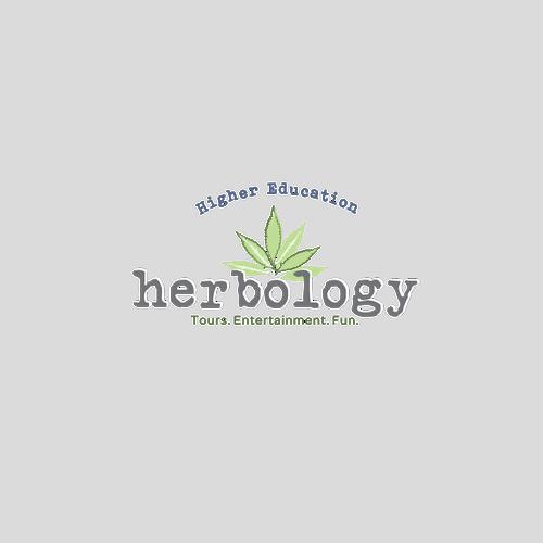 logo design concept for herbology education