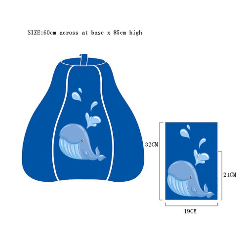 Create illustrations for children bean bags. funny, charming, sweet and cool stuff. Be creative!