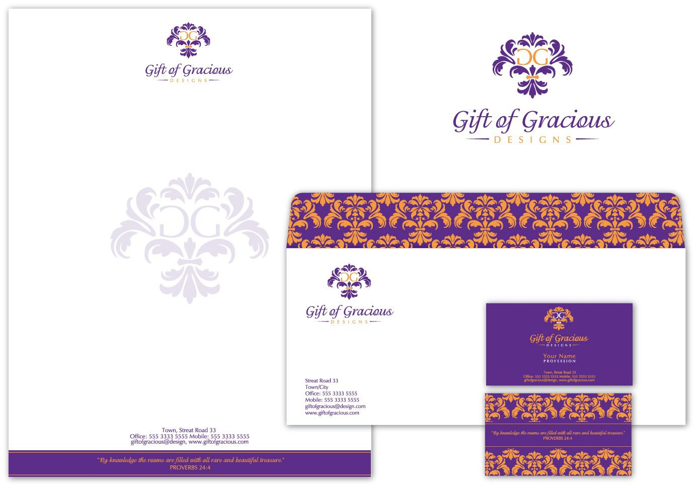 logo for Gift of Gracious Designs