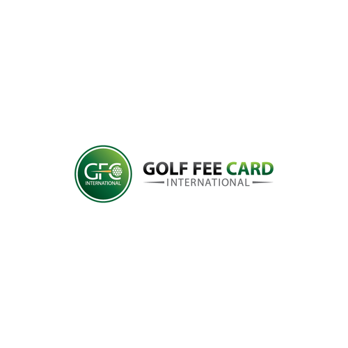Golf Fee Card Logo
