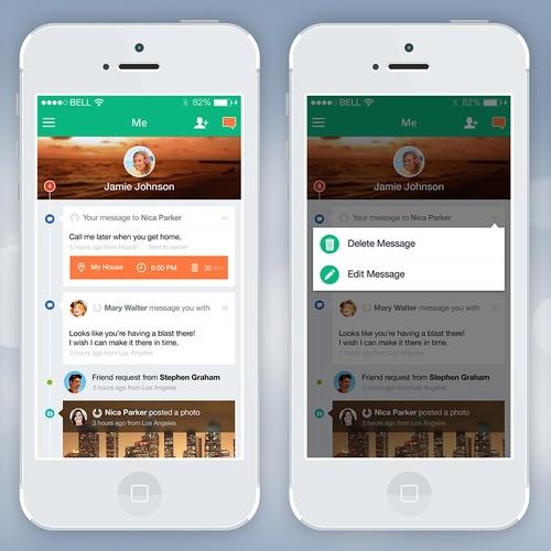 Fresh Social Media Design app