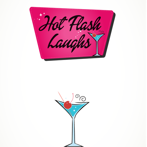 "Create Logo/Name for ""Hot Flash Laughs"" to make a fun attractive name/logo or name & logo"
