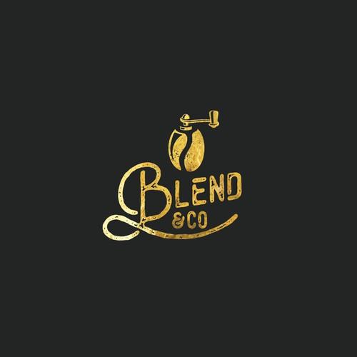 Logo for coffee kiosk