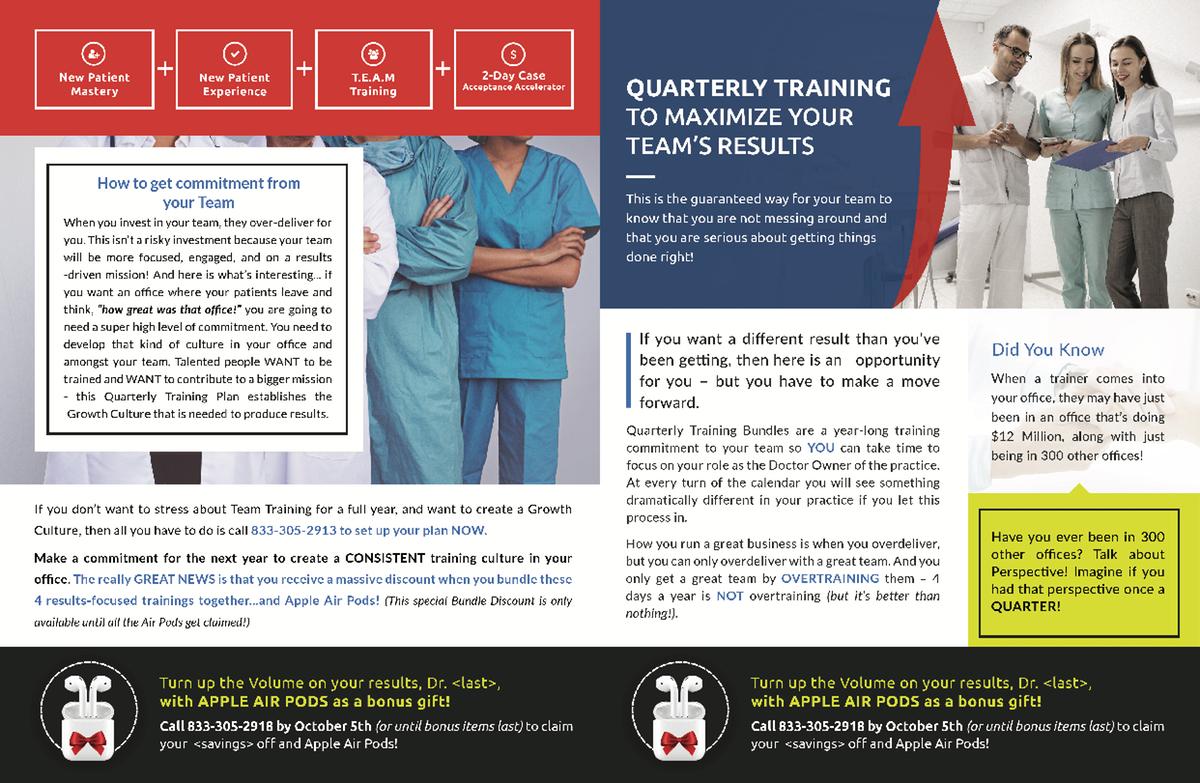 Quad Bundle (General Training Department)