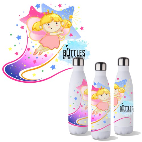 illustration bbbottles fairy