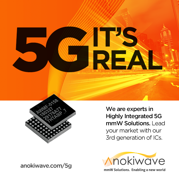 Anokiwave Banner Ad