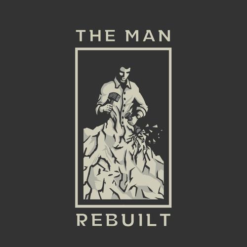 "Logo for ""The Man Rebuilt"""