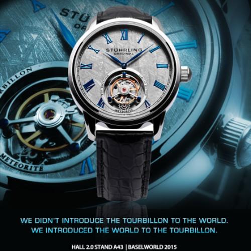 tourbillon collection ad